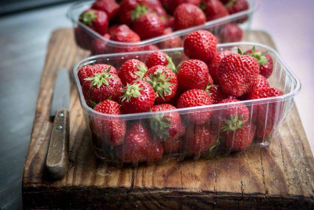 Strawberry frozen yogurt recipe