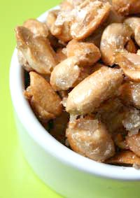 peanut candied salted