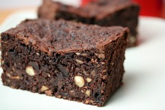 Chocolate Cherry Fruitcake