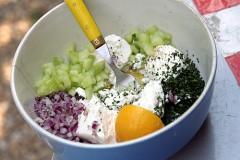 joanne weir cucumber feta salad