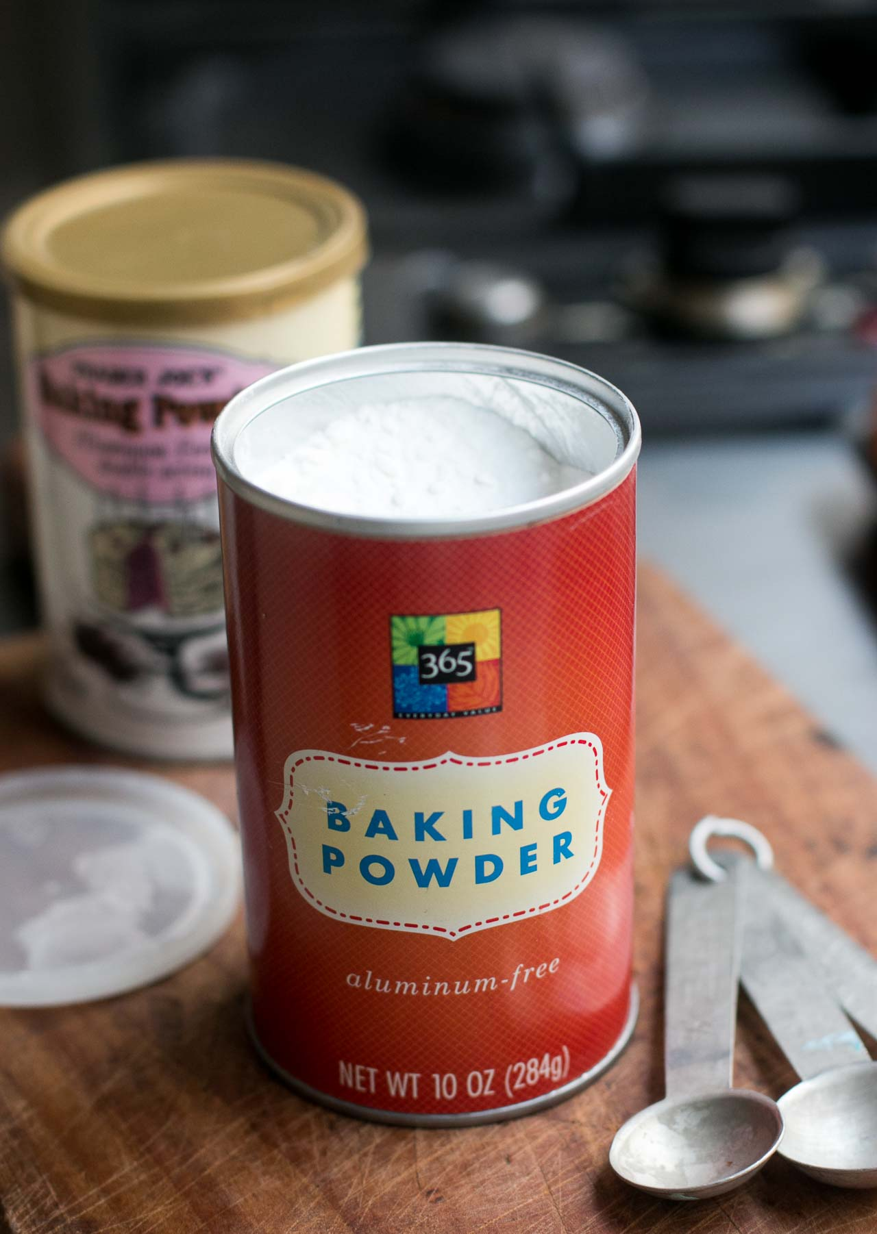After its expiration date baking powder may not work as leavening in your recipe. It can however, be used in place of baking soda in many cases. This is a guide about uses for expired baking powder.