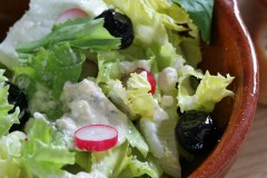 creamy feta red wine vinegar salad dressing