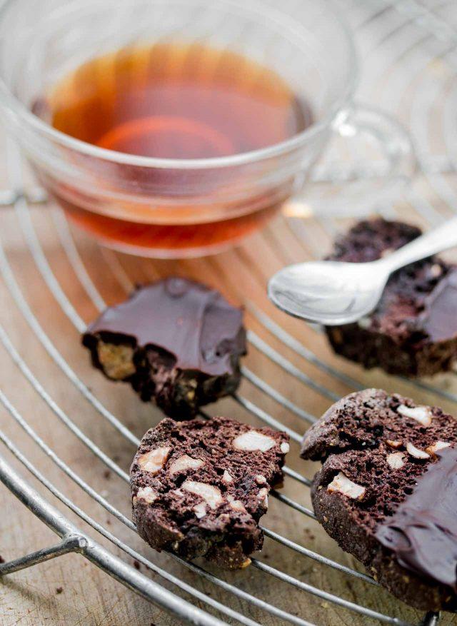 Chocolate biscotti recipe