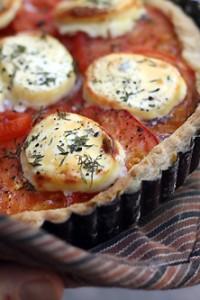 fresh french tomato tart