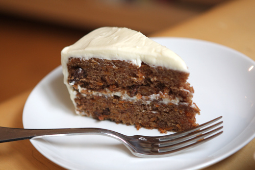Carrot Cake with Cream Cheese Frosting - David Lebovitz