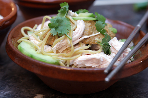 Cold Noodles with Peanut Sauce - David Lebovitz