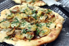 potato blue cheese pizza recipe