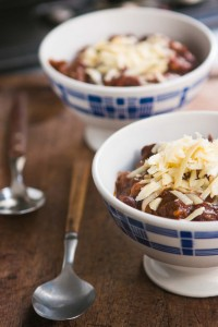 Chocolate chili recipe