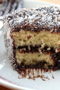 Lamington Recipe cake