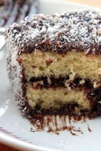 Lamington Recipe cake