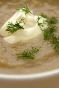 fennel pear soup