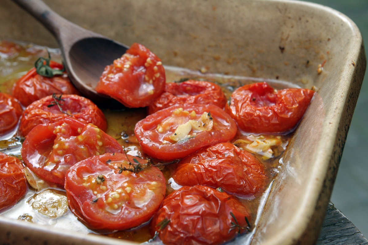 Oven-Roasted Tomatoes - David Lebovitz
