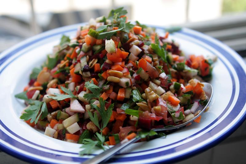 Israeli Salad - David Lebovitz