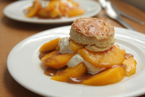 Peach Shortcake - David Lebovitz