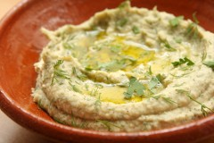 white bean dip