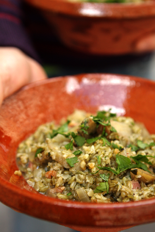 artichoke risotto