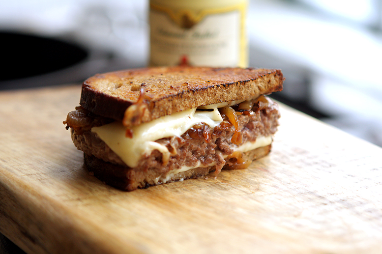 Patty Melt - David Lebovitz
