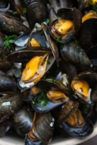 Mussels French fries moules frites recipe