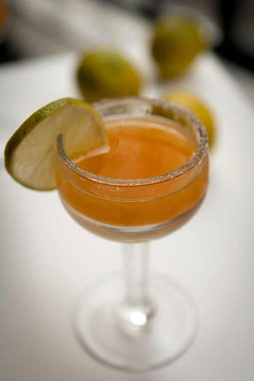 Persimmon Margaritas - David Lebovitz