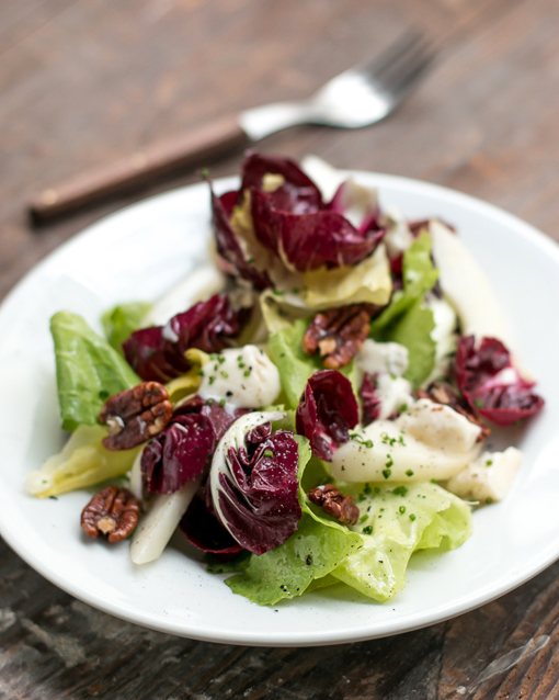 Winter Salad with Pecans, Pears and Gorgonzola - David Lebovitz