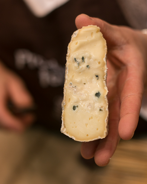 Blue Montbleuet cheese