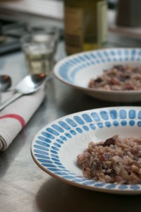 Bacon Radicchio risotto recipe-13