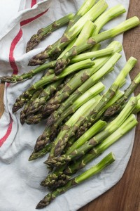oven-roasted asparagus