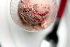 Roasted Strawberry Miso Ice Cream recipe-7