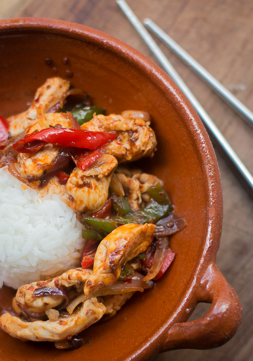 Thai Stir-Fried Chicken with Chile Jam recipe