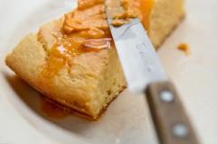 Cornbread recipe with harissa butter