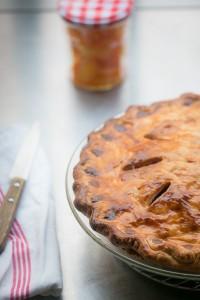Cranberry Raisin Pie recipe