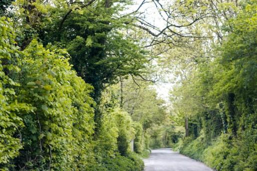 Cork Road in Ireland