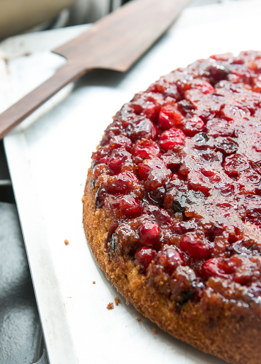 Cranberry Upside Down Cake - David Lebovitz