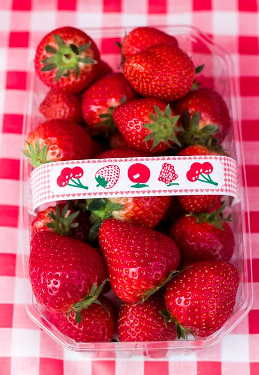 Midleton Farmers market strawberries