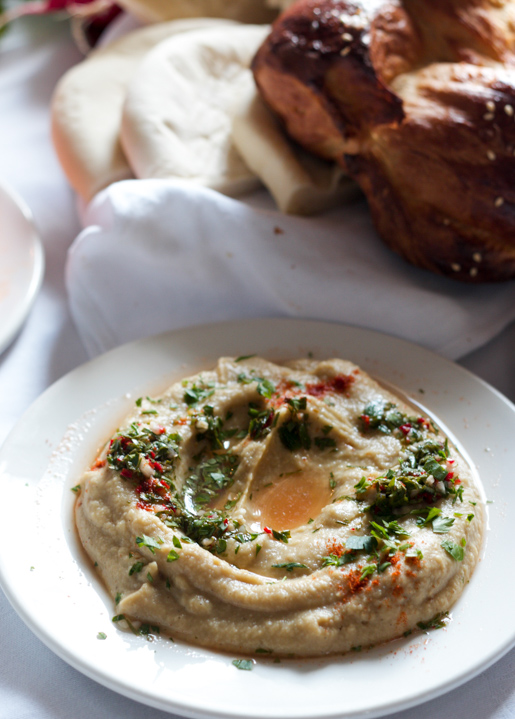 eggplant dip from Honey and Co.