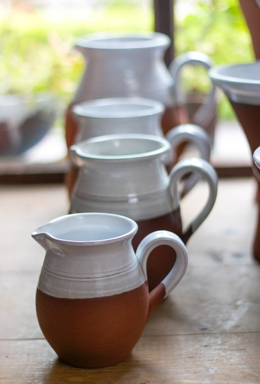 Stephen Pearce pottery jugs