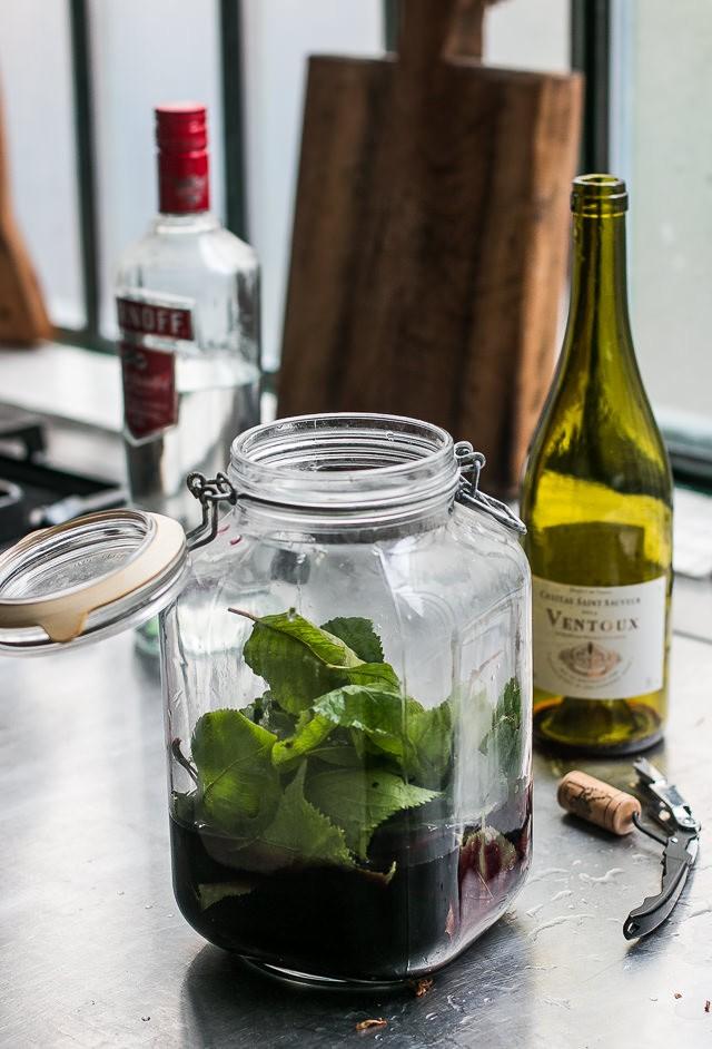 Cherry Leaf Wine recipe