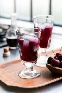 Cherries in Red Wine Syrup - David Lebovitz