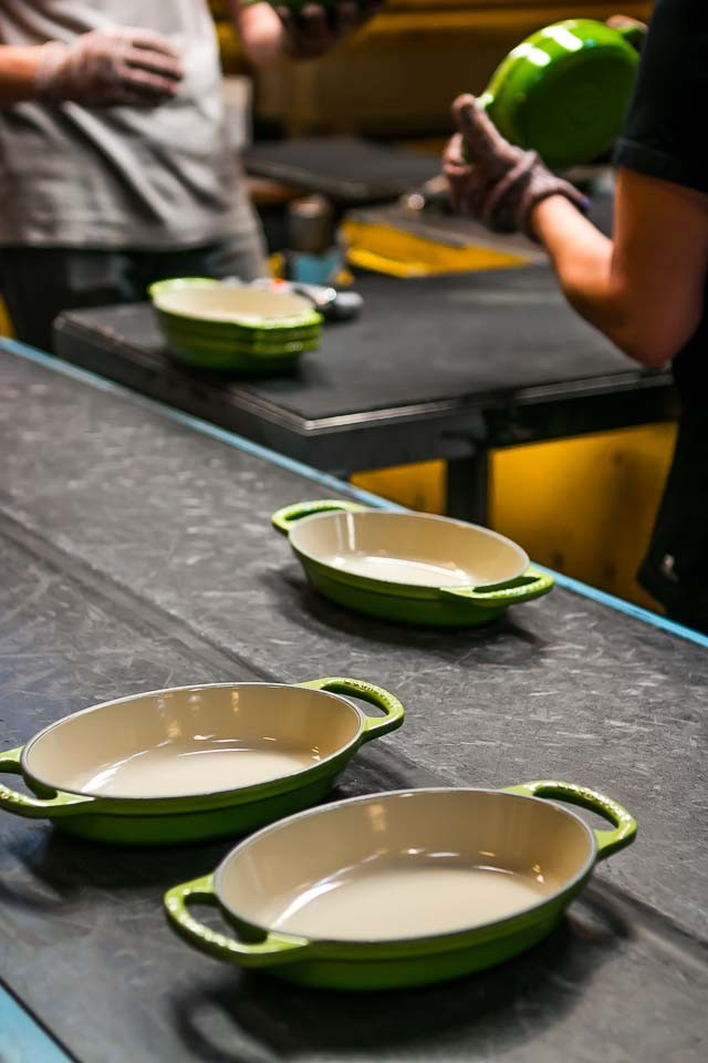 Le Creuset-gratin dishes