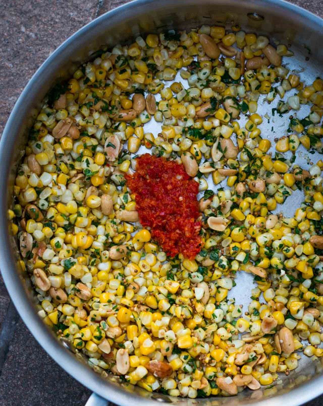 Indian Spiced Corn