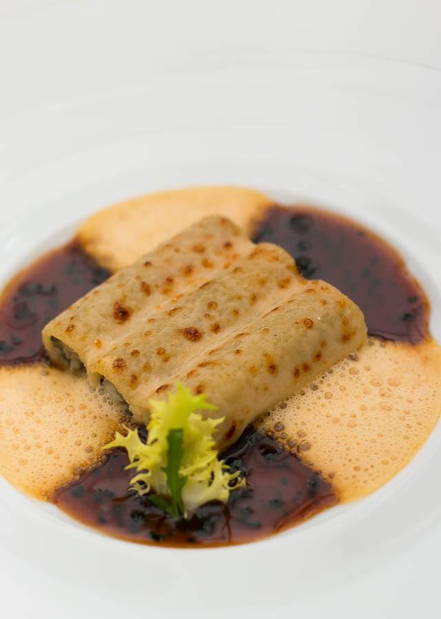 Truffled Pasta at Le Bristol Hotel, Paris