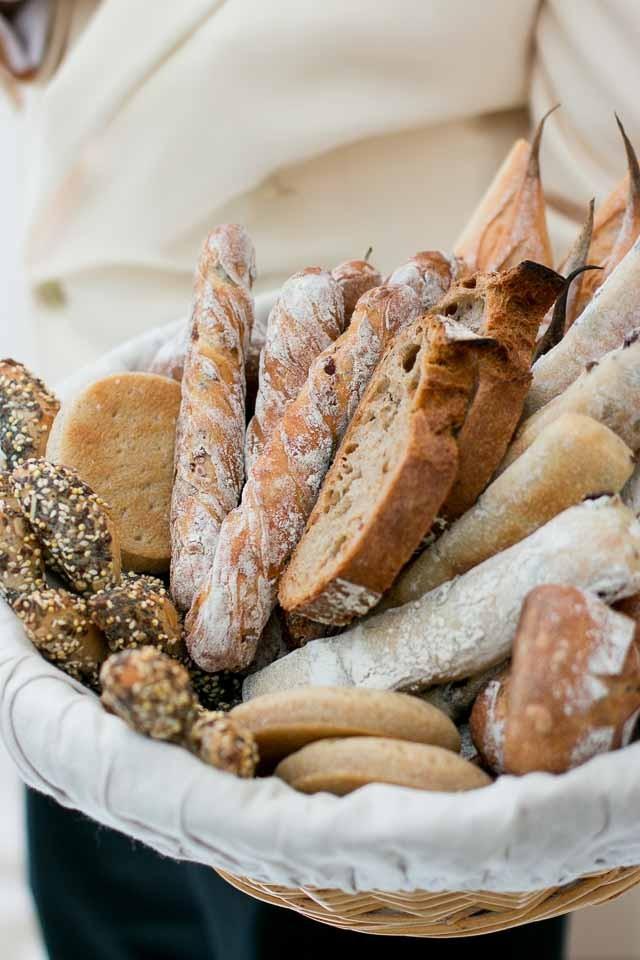 Bread basket at Le Bristol Hotel, Paris