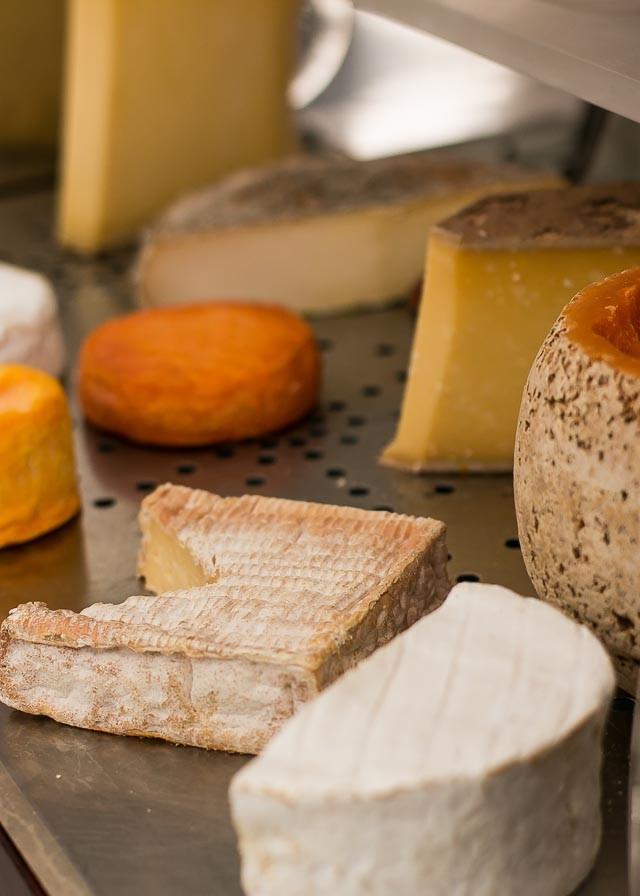 cheese course at Le Bristol Restaurant Hotel Paris