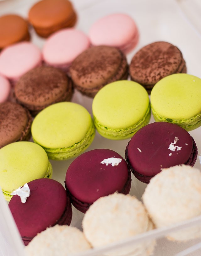 Macarons at Le Bristol Restaurant Hotel Paris