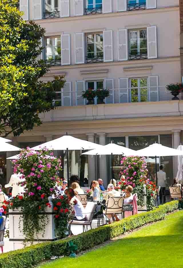 Le Bristol Restaurant Hotel Paris