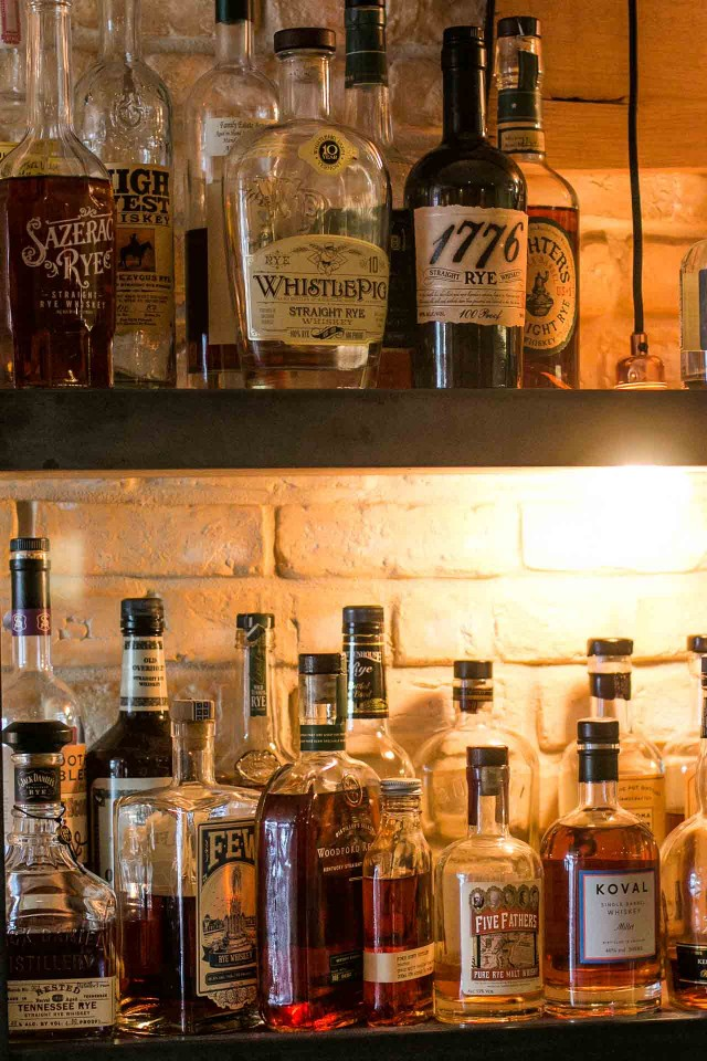 The Beast barbecue in Paris-whiskey bar