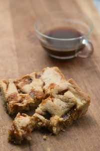 Butterscotch Caramel Blondies