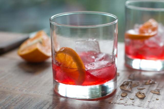 Cranberry Shrub Cocktail