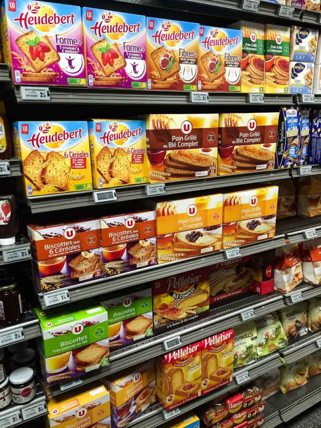 French toast in supermarket