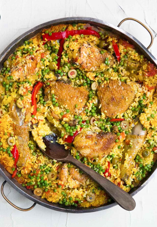Arroz con pollo: Spanish Chicken with rice - David Lebovitz